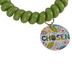 Glitter and Grace, Chosen Coil Bracelet, Lime Green