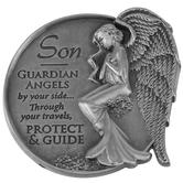 AngelStar, Son Guardian Angel Visor Clip, Zinc Alloy, 2 1/2 inches
