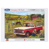 Eurographics, Grandpa's Old Truck Puzzle, 1000 Pieces, 19 1/4 x 26 5/8 inches