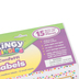 Teacher Created Resources, Clingy Thingies Confetti Wipe-Off Labels, Reusable, 3 Sizes, 13 Pieces