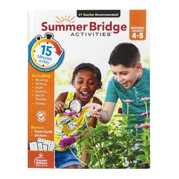 Carson-Dellosa, Summer Bridge Activities Workbook ...