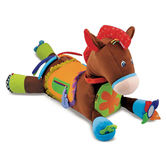 Melissa & Doug, Giddy-Up & Play Horse Activity Toy, Ages 9 Months to 3 Years