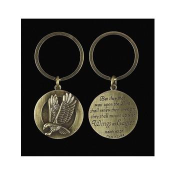 Eagle Key Ring - Isaiah 40:31