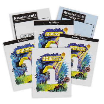 BJU Press, Science 1 Complete Subject Kit, 4th Edition, Grade 1