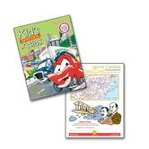 Kappa Map Group, Kid's United States Atlas, 8.5 x 10.875 Inches, Paperback, 64 Pages