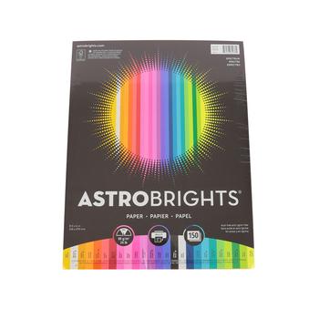 Neenah, Astrobrights, Premium Paper, 150 pack