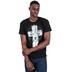 Kerusso, Lion Cross, Men's T-Shirt, Black