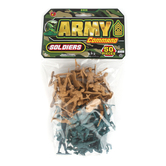 Ja-Ru Inc., Army Command Soldiers, Ages 4 Years and Older, 50 Pieces