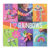 Ann Williams Group, Craft-tastic I Love Rainbows Kit, 172 Pieces, Ages 7 Years and Up