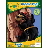 Crayola, Crayon Doodle Pad, 60 Pages, 9 x 12 inches