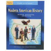 The Classical Historian, Take a Stand! Modern American History Teacher Edition, Grades 9-12