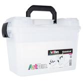 ArtBin, Sidekick Case, Clear & Black, 15 1/4 x 8 x 10 inches