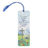 Dicksons, Cuando Cierra Dios Una Puerta El Abre Otra Spanish Bookmark, 2 x 6 inches
