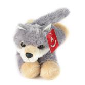 Aurora, Mini Flopsies, Woolsey the Wolf Stuffed Animal, 8 inches