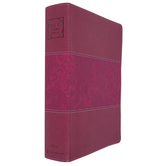 NIV Zondervan Study Bible, Revised, Large Print, Imitation Leather, Multiple Colors Available