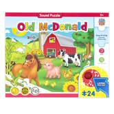 MasterPieces, Sing-A-Long Old McDonald Farm Puzzle, 24 Pieces, 18 x 24 inches