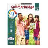 Carson-Dellosa, Summer Bridge Activities Workbook, Paperback, 160 Pages, Grades 7-8