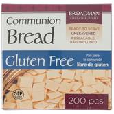 Broadman Church Supplies, Gluten Free Communion Bread, 200 Wafers