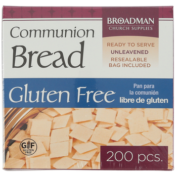 Broadman Church Supplies, Gluten Free Communion Bread, 200 Wafers