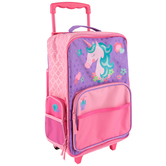 Stephen Joseph, Unicorn Classic Rolling Luggage, 14 1/2 x 18 inches
