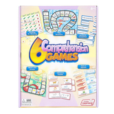 Junior Learning, 6 Comprehension Games Set, Ages 5 Years and Older