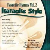 Favorite Hymns Volume 2, Karaoke Style, As Made Popular by Various Artists, CD+G
