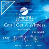 Can I Get A Witness, Accompaniment Track, As Made Popular by The Sound, CD
