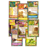 North Star Teacher Resources, Jesus' Lessons in Parables Bulletin Board Set, 8 Pieces