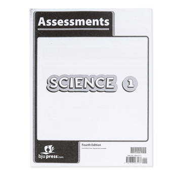 BJU Press, Science 1 Assessments, 4th Edition, Paperback, Grade 1