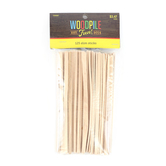 Woodpile Fun, Slim Craft Sticks, Natural, 125 Pieces