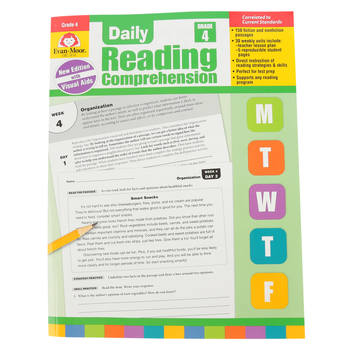 Evan-Moor, Daily Reading Comprehension Grade 4, Paperback,   208 Pages, Grade 4
