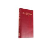 KJV Economy New Testament with Psalms, Imitation Leather, Burgundy
