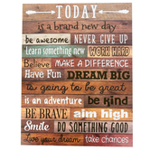 Teacher Created Resources, Home Sweet Classroom Today Is A Brand New Day Chart, 17 x 22 Inches