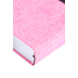 NLT Personal Size Large Print Bible, Duo-Tone, Pink and Brown, Thumb Indexed