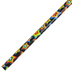Fun Express, Neon Star Pencil, Assorted Colors, 7 1/2 Inches, 1 Each