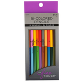 The Fine Touch, Bi-Colored Pencils, Box of 12