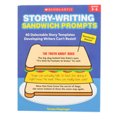 Scholastic, Story-Writing Sandwich Prompts Workbook, 64 Pages, Grades 3-6