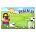 Salt & Light Kids, Psalm 23 Learning Mat, Plastic, 11 1/2 x 17 1/2 Inches, Ages 4 & Older