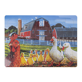 Outset Media, Dwights Ducks Puzzle, 13 3/4 x 9 3/4 inches, 35 Pieces, Ages 3 & Older