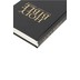KJV Church and Pew Bible, Large Print, Hardcover, Black