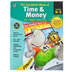 Thinking Kids, The Complete Book of Time and Money Workbook, Paperback, 416 Pages, Grades K-3
