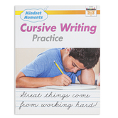 Newmark Learning, Mindset Moments Cursive Writing Handwriting Practice Book, 48 Pages, Grades 2-3