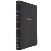 NKJV Thinline Reference Bible, Imitation Leather, Black
