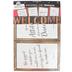 Schoolgirl Style, Industrial Chic Welcome Bulletin Board Set, 11 Pieces