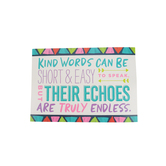 Renewing Minds, Kind Words Can Be Motivational Poster, 13.25 x 19 Inches, 1 Piece