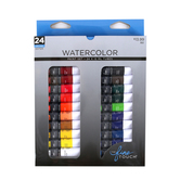 The Fine Touch. Watercolor Paint Set, 1 Each of 24 Colors