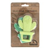 Ore Originals, Sugarbooger Happy Cactus Teethers, 3 x 4 inches, Set of 2