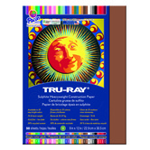 Tru-Ray® Sulphite Construction Paper, 9 x 12 inches, Warm Brown, 50 Sheets