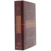 NKJV Thompson Chain-Reference Bible, Hardcover, Red