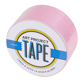 Light Pink Art Project Tape, 1 7/8 inches x 20 yards, 1 Roll